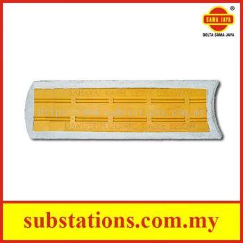Hybrid Concrete Plastic Cable Slab