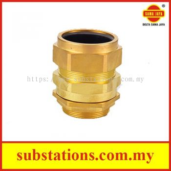 """Brass Cable Glands """"CW4PT"""" Type c/w Lock Nut"""