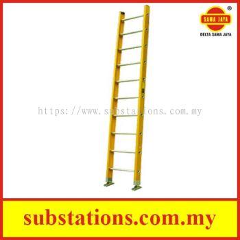 Safety Fibreglass Single Pole Ladder