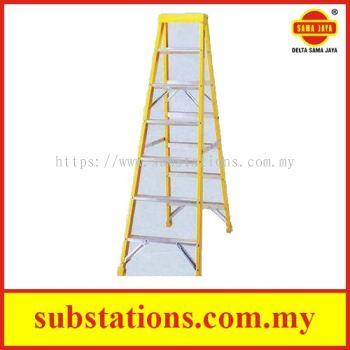Fibreglass Stepladder Industrial Duty (Double Sided)