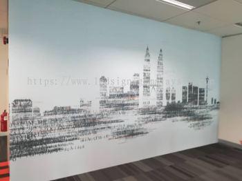 Wall Sticker - City Landscape