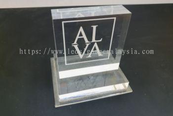 Acrylic Engraving - Business Logo Display