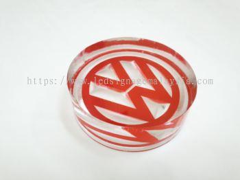 Acrylic Reverse Engrave - Logo