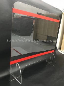 Acrylic Shield for Table Counter