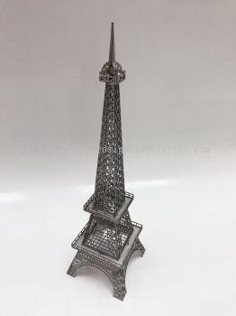 Famous Eiffel Tower 3D Model statue