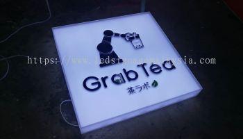 Square LED Signage for Beverages Brand
