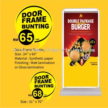 Door Frame Bunting