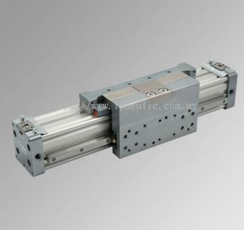 RODLESS CYLINDERS WITH BALL RECIRCULATION SERIES PU