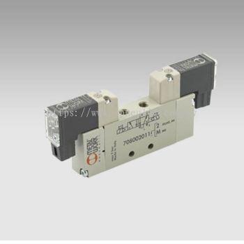 MINIMACH PLUG-IN CONN.-- MINIMACH M5 5/2 SOL/SOL 24VDC