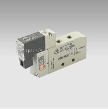 MINIMACH PLUG-IN CONN.-- MINIMACH M5 5/2 SOL/SPR 24VDC
