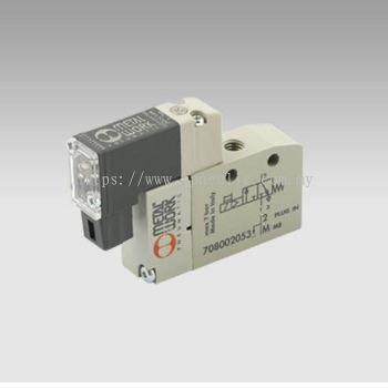 MINIMACH PLUG-IN CONN.-- MINIMACH M5 3/2 NC SL/SP 24VDC