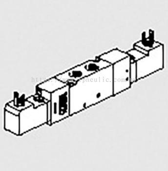 """MACH 16 ELECTRO-PNEUMATIC-- ELPN 1/8"""" 5/2 BIST. 24VDC MACH16"""
