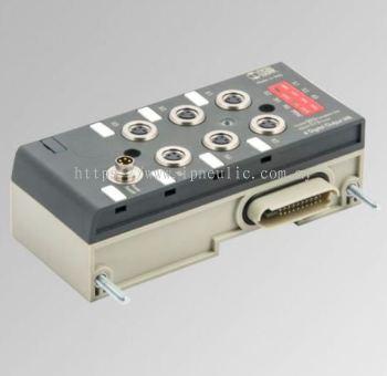 EB80 ELPN SYSTEM-- EB 80 MODULE 6 M8 DIGITAL OUTPUTS + ELECTRICAL SUPPLY
