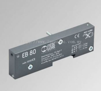 EB80 CLOSED-END PLATE - C-- CLOSED END-PLATE ISLANDS FIELDBUS