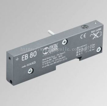 EB80 CLOSED-END PLATE - C-- CLOSED END-PLATE ELECTRICAL CONN. TO ADDITIONAL ISLANDS