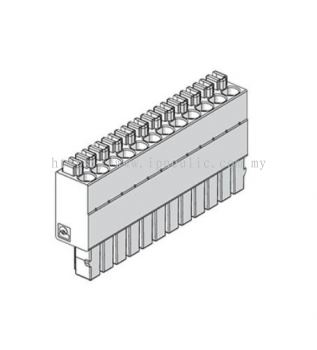 EB80 CLOSED-END PLATE - C-- CONN. 12 POS. MOD. S06-S07