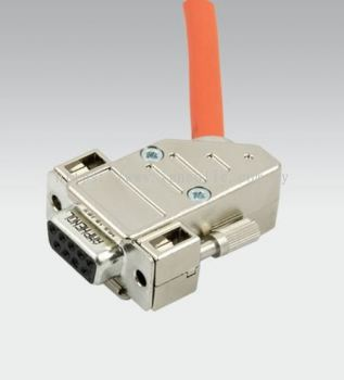 EB80 BOXI 4 POSTION ISLAND-- ACC. CONN. D SUB 9 PIN 90° + CABLE