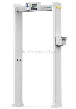 Walk Through Metal Detector with Temperature Measurement