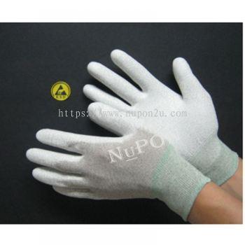 Conductive PU Palm Coated Gloves