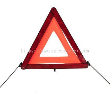 OEM Emergency Traffic Car Warning Triangle Led Flashing Light For Roadway Safety Traffic Signs
