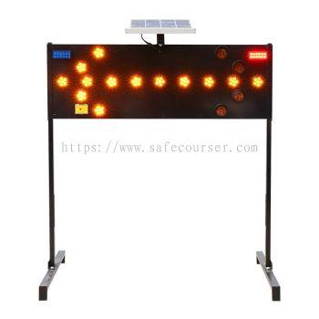 Solar LED flashing Arrow Board (Left and Right )