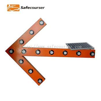 Solar LED Sagittate Indicator Light