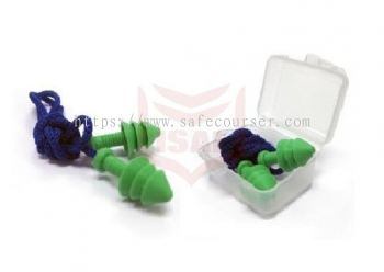 EP - 01 Corded Reusable Earplug With Casing