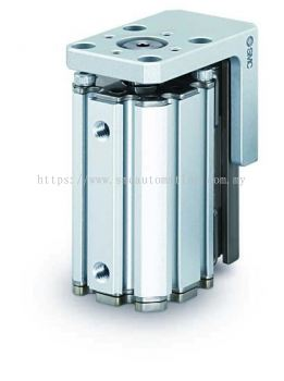 COMPACT CYLINDER WITH LINEAR GUIDE MXZ