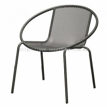 Outdoor Lounge Chair - Cool Grey