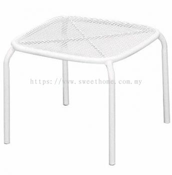 Outdoor Lounge Table - Sandy White