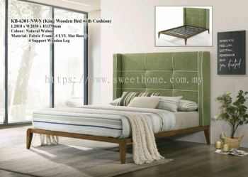 High Back Designer Series Premium Bedframe