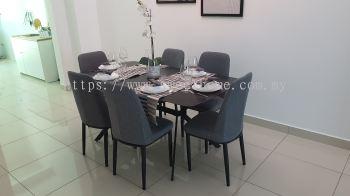 Ceramic Dinning Table Eco Horizon Penang