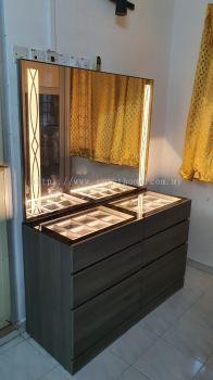 Dressing Table With Light Bukit Mertajam