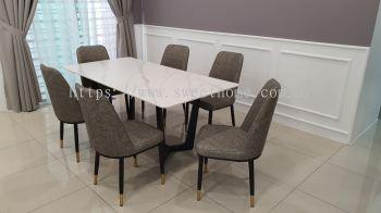 Ceramic Sintered stone Dinning Table