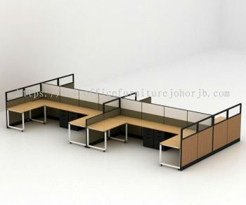 Fabric Covered Workstation Partition Systems