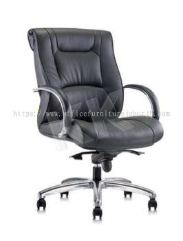 KESS (M) Executive Leather Medium Back Chair