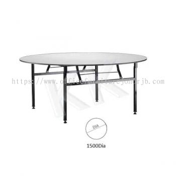 Foldable Round Banquet Table (1500W)