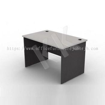 Light Grey & Dark Grey Straight Office Table 1200W