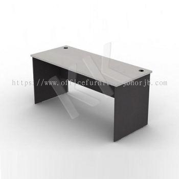 Light Grey & Dark Grey Straight Office Table 1500W