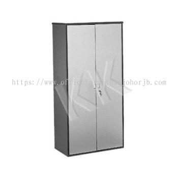Light Grey & Dark Grey Office High Swing Door Cabinet