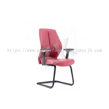 KELT Leather Visitor Office Chair