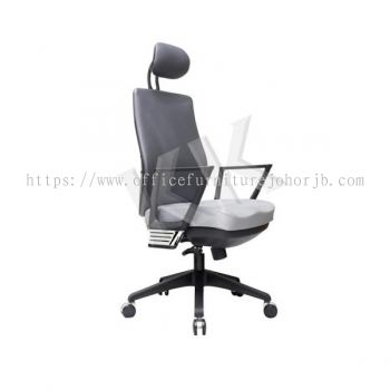 Kigma Leather Highback Office Chair