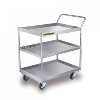 FOOD TROLLEY 3 TIERS - ECONOMY TYPE