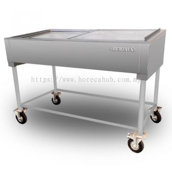 STAINLESS STEEL SEAFOOD DISPLAY