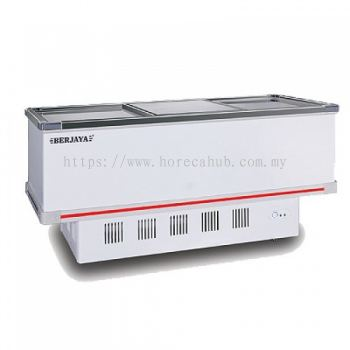 DELUXE BERJAYA ISLAND CHEST FREEZER-PIPING SYSTEM