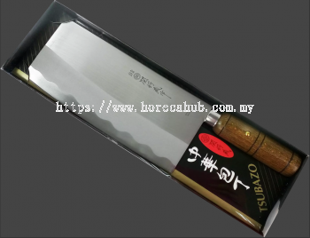 NIKKEN JAPAN STAINLESS STEEL WOODEN HANDLE CHOPPER