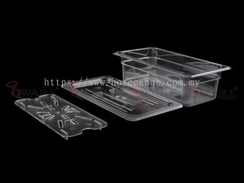 THIRD SIZE POLYCARBONATE GN PAN