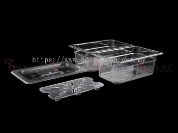 QUARTER SIZE POLYCARBONATE GN PAN