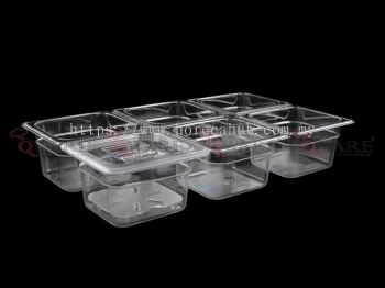 SIXTH SIZE POLYCARBONATE GN PAN