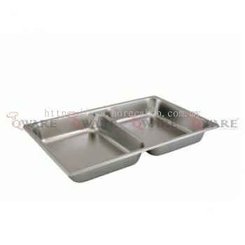 FULL SIZE GN DIVIDEN PAN W-STACKING RECESS
